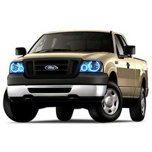 Brightest Blue LED Halo Ring Headlight Kit for Ford F-150 04-08 - $130.98