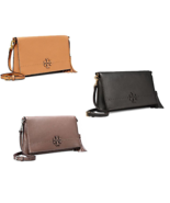 TORY BURCH McGraw Fold Over Crossbody Free Gift Free Shipping - $224.00