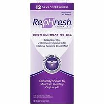 RepHresh Odor Eliminating Vaginal Gel, 4ct 0.07oz - $22.90