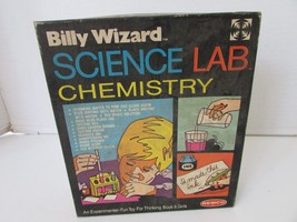 VTG REMCO 1972 BILLY WIZARD SCIENCE LAB CHEMISTRY #410 INCOMPLETE-PARTS ... - $17.49