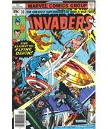 The Invaders Comic Book #30 Marvel Comics 1978 FINE - $3.50