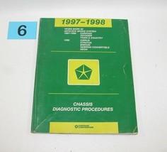 1997 1998 Chrysler Dodge Plym Teves Mark 20 Antilock Brake Diagnostic Manual 6 - $14.80