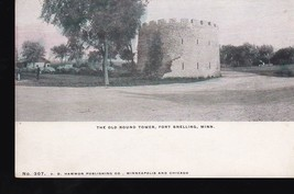 The Old Round Tower Fort Snelling Minn. Vintage Postcard - $2.64