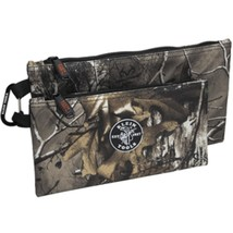 Klein Tools Zipper Bags - Camo - 2-Pack - $44.24