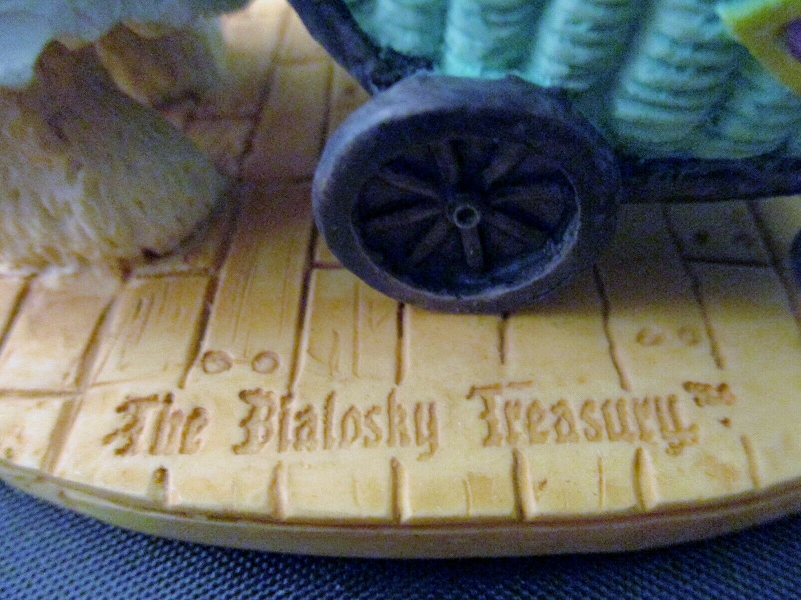"The Bialosky Treasury ""Rosepetal and Marcel"" Figurine 1995 image 6"