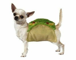 Taco Dog Halloween Costume High Quality Detailed Shell & Food Toppings - $33.55+
