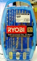 Ryobi 79491 21 pc. Drill Bit Accessory Set - $5.94