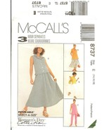 McCall's #8737 Woman's Day Collection Petite-able 3 Hour Separates 14-18 FF - $7.47