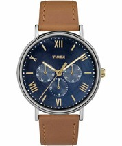 Timex Southview Multifunction TW2R291009J Men's Wristwatch with Tan Strap  - $60.95