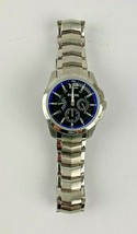 Fossil Watch Mens 661505 Model Blue Color Face Mens Clothing Accessory - $29.99