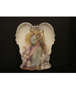 Two Collectible Angel Plates by Laine Gordon and Nadezhda Strelkina  - $10.79