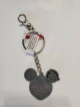 NWT Disney Parks Mickey Mouse Keychain Mechanical Clockwork - $14.80