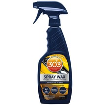 303 Spray Wax and Quick Detailer with UV Protectant - Car Cleaner with C... - $16.39