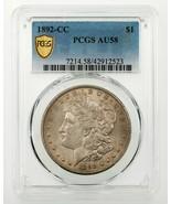 1892-CC $1 Silver Morgan Dollar Graded by PCGS as AU-58! Key Date - $1,385.99
