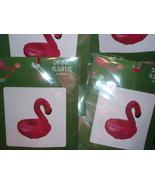 6 Floating Drink Holder Flamingo Mini Inflatable  Reusable - $12.00