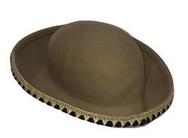 Vintage Oscar de la Renta Millinery Wool Hat Beige Wool - $33.41