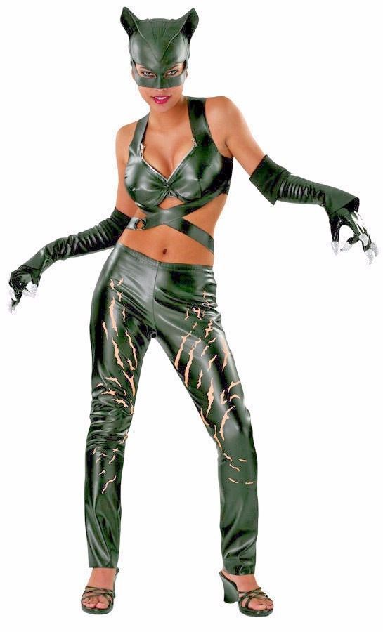 Primary image for Catwoman Costume Adult Female Superhero Villain Cat Woman Halloween Sexy Rubies