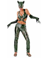Catwoman Costume Adult Female Superhero Villain Cat Woman Halloween Sexy Rubies - $32.99