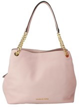 Michael Kors Hobo Shoulder Bag Blossom Pink Soft Pebbled Leather Medium ... - $311.42