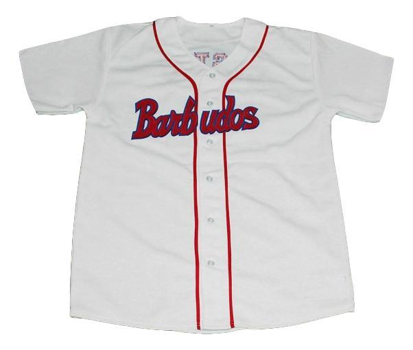 Custom barbudos team cuba baseball jersey button down 1