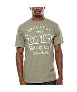 Zoo York Struck Logo T-Shirt Size M New Dusty Olive Trible - $12.99