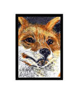 Red Fox Pen and Ink Print - $24.00