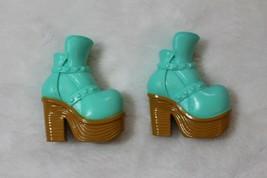 Bratz Barbie Blue Boots Fits Jade Yasmin Sasha Chloe All Bratz Dolls Dol... - $12.86