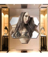 WWE Brie Bella Wall Art Painting Canvas Poster Print Decor Hexagon 7 Pan... - $94.99+
