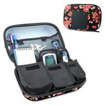 USA Gear Diabetic Supplies Travel Case Organizer - Floral - $17.99