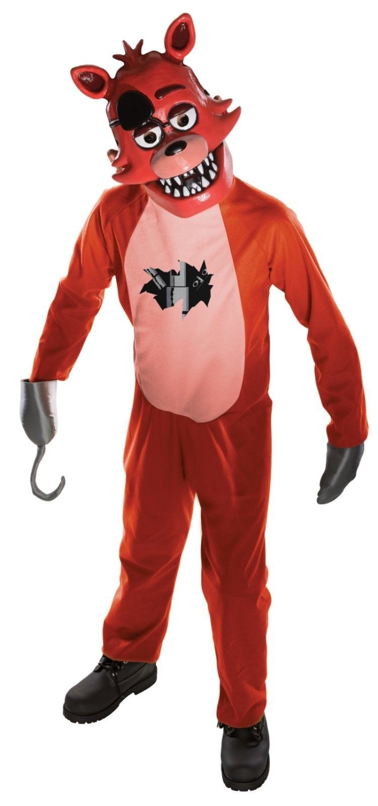 Rubies Five Nights At Freddy's Foxy Tween Child Boys Halloween Costume 630103