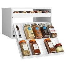 YouCopia Chef's Edition SpiceStack 30-Bottle Spice Organizer with Univer... - $39.88