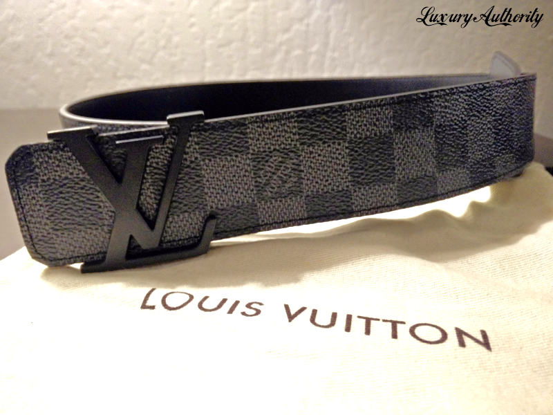 e1077939b90e Img 5206588067 1513740724. Img 5206588067 1513740724. Previous. Louis  Vuitton Damier Graphite Belt M9808 Men s Size 95 38 ...