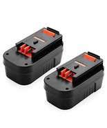 ANTRobut 2 Pack 18V 5000mAh HPB18-OPE Lithium Battery for Black and Deck... - $62.99