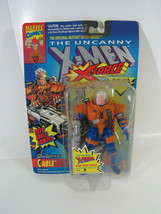 MOC 1993 ToyBiz Marvel X-Men X-Force Deep Space Armor Cable Action Figure  - $14.85