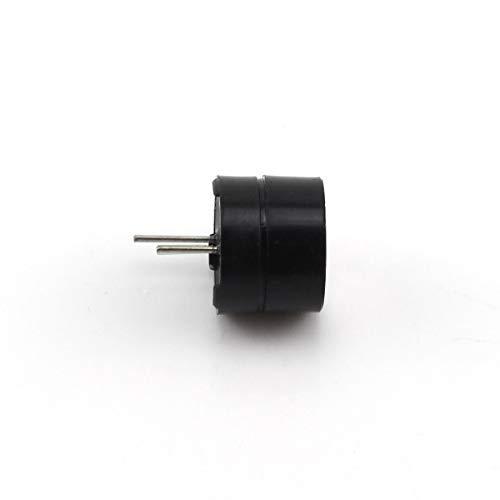 TOTOT 6PCS Black 5V Electromagnetic Active Buzzer Continous Beep (6)
