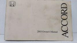 2003 Honda Accord Owners Manual 72720 - $27.46