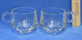2 Vintage Hazel Atlas Clear Glass Collectible C... - $7.91