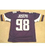 UNSIGNED CUSTOM Sewn Stitched Linval Joseph Purple Jersey - M, L, XL, 2XL - $14.99
