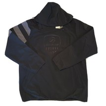 Adidas Mens M USA Volleyball Full Zip Hooded All Weather Jacket Black DY... - $63.86