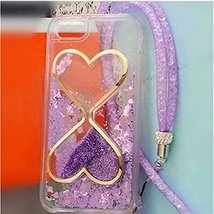 Liquid Case for iphone 8 Plus,Sangglass Liquid Floating Bling Glitter Dy... - $11.87