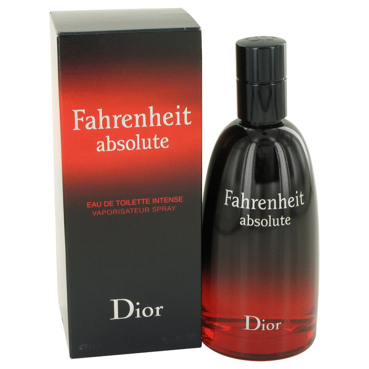 Christian Dior Fahrenheit Absolute Cologne 3.4 Oz Eau De Toilette Spray