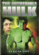 The Incredible Hulk - The Complete Second Season (DVD, 2014, 5-Disc Set) - €8,67 EUR