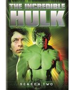 The Incredible Hulk - The Complete Second Season (DVD, 2014, 5-Disc Set) - $9.95