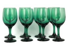 Fun-Damentals by Libbey Set of 8 Juniper Dynasty Wine Glass Goblets 11.5 Oz - $59.39