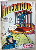 BLACKHAWK #113 (1957) DC Comics VG+ - $29.69