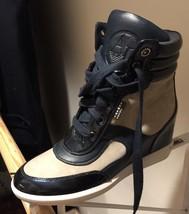 Armani Jeans Hi Top Sneaker - $150.00