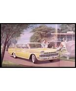 1960 Rambler Prestige Color Brochure, Ambassador, Rebel - $12.60