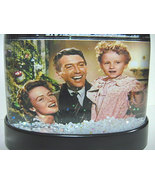 It's A Wonderful Life Snow Globe Auld Lang Syne Finale in COLOR Snowglob... - $24.99
