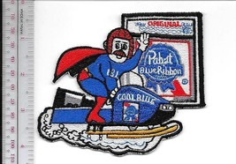 Beer Snowmobile Pabst Blue Ribbon Beer Cool Blue Snowmobile 1970's Ads M... - $9.99