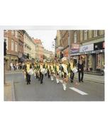 Denmark Slagelee Pigegarde Girls Marching Band Street Parade Vntg Postca... - $9.95